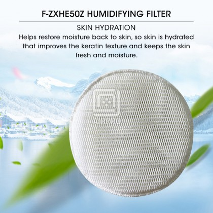 AIRPRO Panasonic F-ZXHE50Z Air Purifier Replacement Parts Humidifying Filter for F-VXH50A F-VXR50H F-VXK40C F-VXH50A F-VJL55C F-VK655R-N F-VK655H