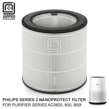 AIRPRO Philips FY0194/30 NanoProtect Filter Air Purifie Series 2 For AC0820, Series 800, 800i