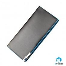 Baellerry Business Men's Wallets PU Leather Long Wallet Portable Cash Purses Male Clutch Bag