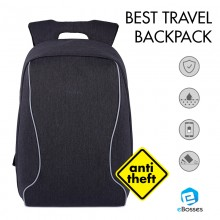 Tigernu Laptop Backpack Shockproof Anti-theft Travel Bag Lightweight Waterproof