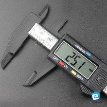 150mm 6inch 0.01mm 0.05inch Stainless Steel Digital Caliper Electronic Caliper Battery Included