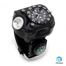 Watch Rechargeable LED Handheld Flashlight Sports