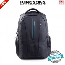 New Kingsons KS3047W 15.6 inch Laptop Backpack Water Resistant Jacquard Nylon Notebook Bag