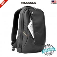 KINGSONS KS3019 Men USB External Charging Anti Theft Laptop Backpack for 15.6 Inch Laptop