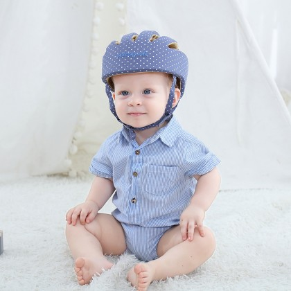 Infant Baby Toddler Soft Safety Helmet Head Protection Head Protective Cap Adjustable